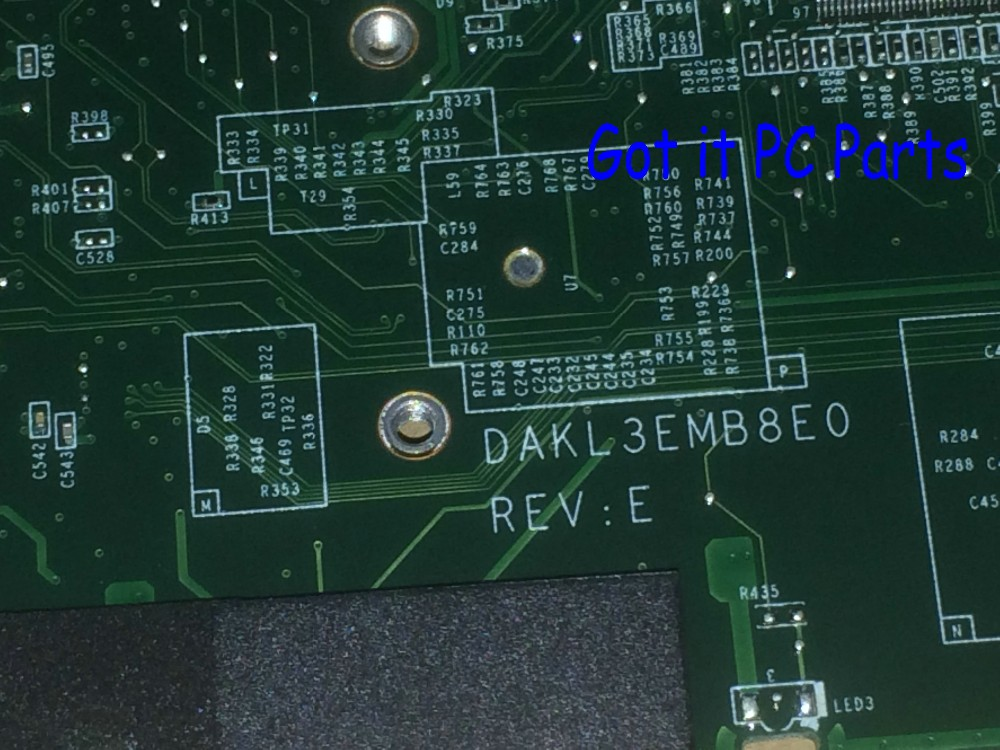 KEFU STOCK ,31KL3MB00Q0 DAKL3EMB8E0 REV : E  For Lenovo Y560P LAPTOP MOTHERBOARD ,100% New Item..(qualified Ok.no Fit Y560)