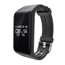 K1 Bluetooth Smart band Activity Fitness 4.0 Fit Bit Tracker Sport Bracelet Wristband Pedometer For IOS Xiaomi PK M2 TW64 ID115