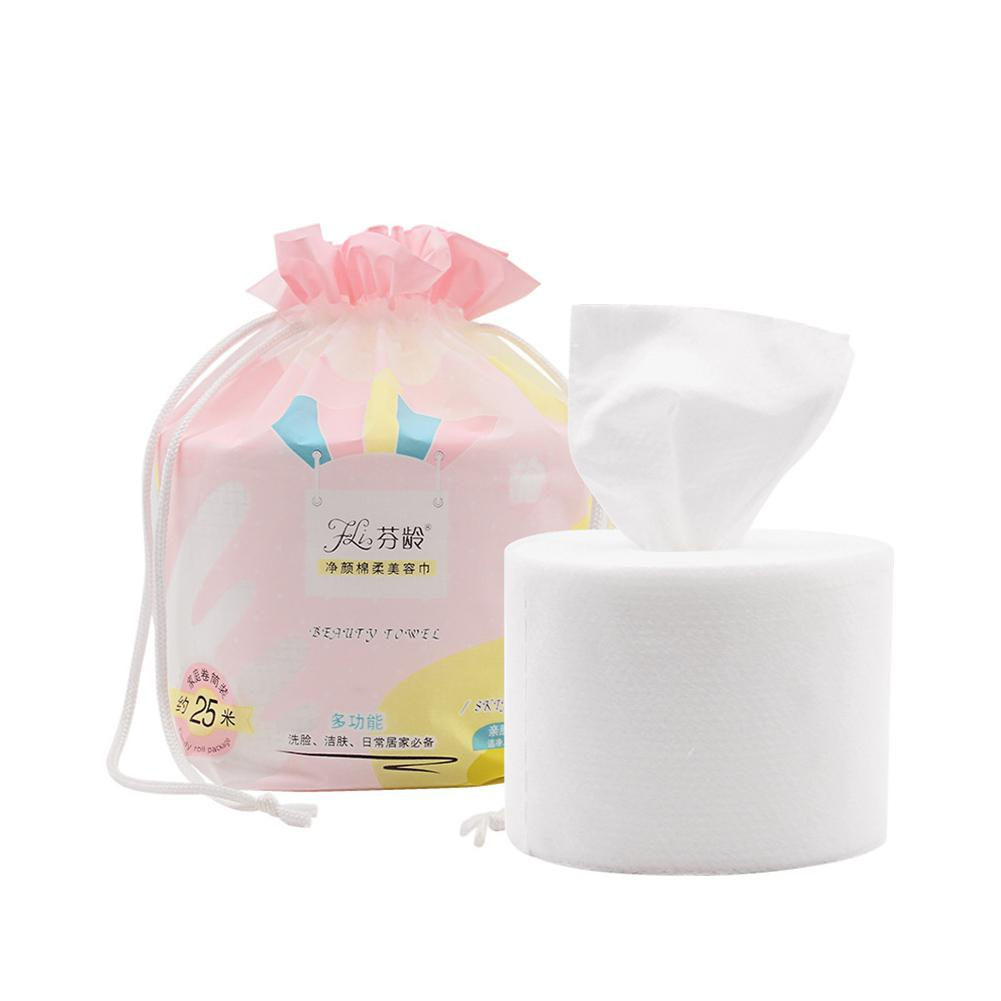BellyLady Disposable Non-woven Beauty Towel Quick Drying Women Face Cleaning Towel