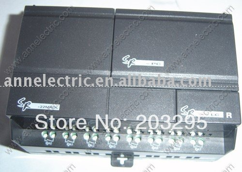 PLC   SR-22MRDC with HMI,12-24VDC 14 points DC input (with 8 points analog ) , 8 points relay output цены онлайн