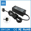 15V 1.2A 18W laptop AC power adapter charger for Asus Eee Pad TF101 TF201 TF300 SL101 VivoTab  TF710T TF810C