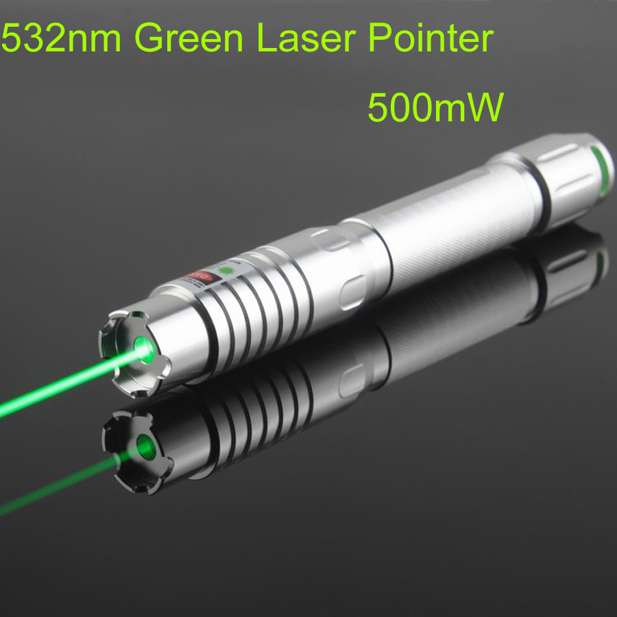 649aee9aea9 532nm High Power 500mW Burning Green Laser Pointer Pen fat Beam extream  bright with 5 stars caps 18650 battery +charger