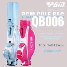ПГМ подлинный Гольф Сумка для гольфа Стандарт прочный Водонепроницаемый Леди емкости Стандартный мяч мешок вышитые пакет содержит полный набор клуб
