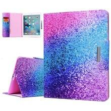 Luxury Case For Ipad 5 Cover Cute Unicorn Flamingo Rainbow Marble Cartoon Shockproof Card iPad Air Protective