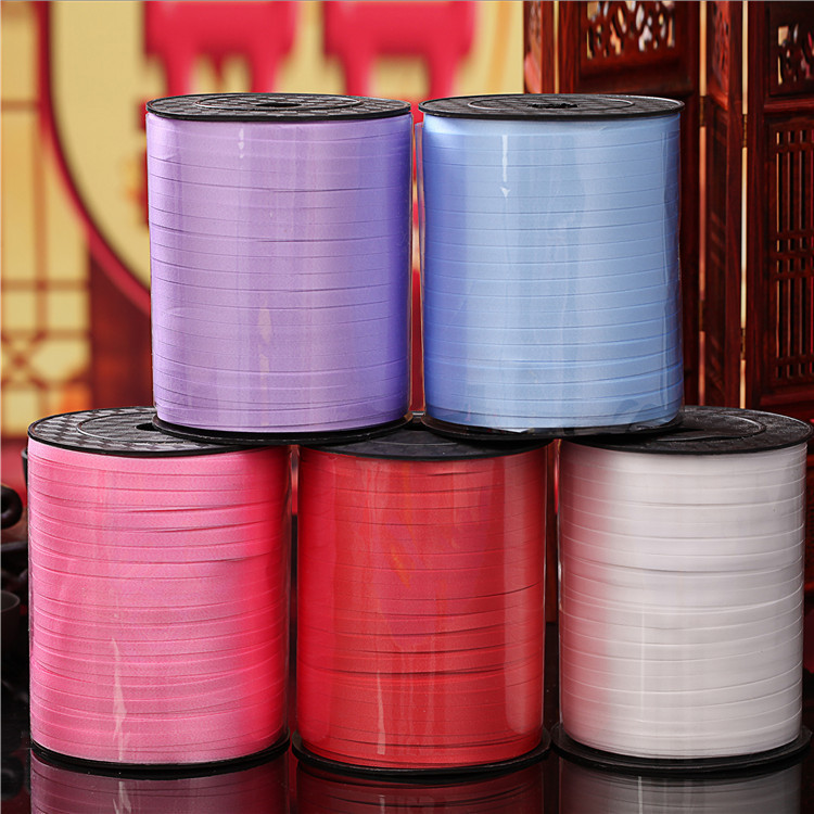 Hot sale High Quality 500m length 5mm width  Balloons Ribbon for Wedding Party B