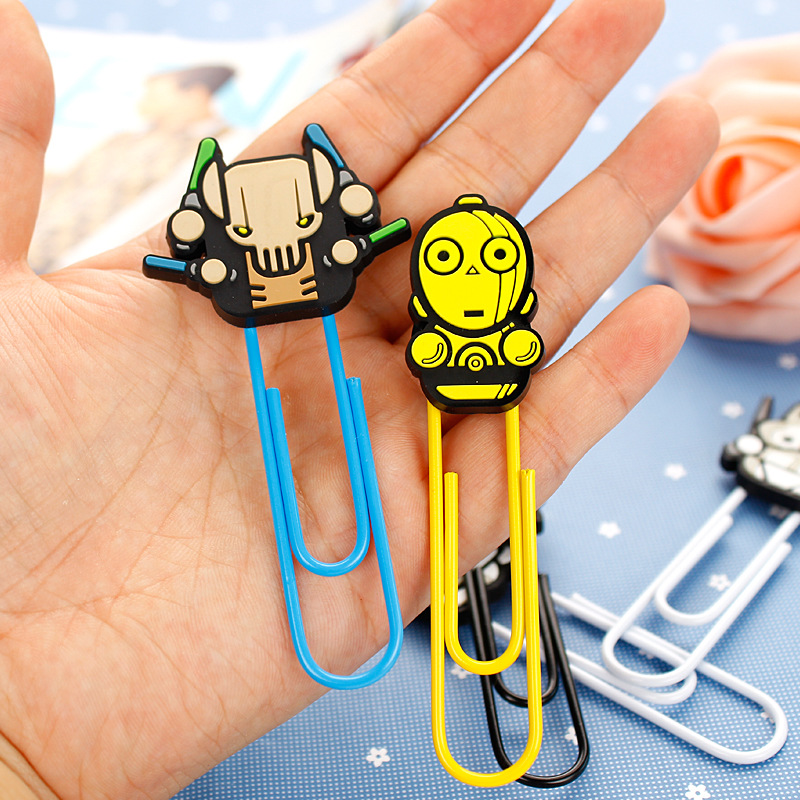 Creative Star Wars Darth Vader Paper Clip Bookmark Promotional Gift ...