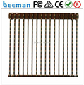 2015 Leeman DMX High transparent led flexible strip mesh stage background led strip led mesh curtain design video wall screen