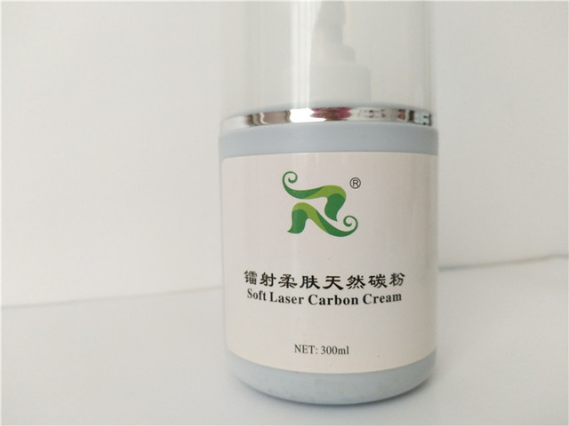 laser skin whitening  carbon gel cream with factory wholesale price