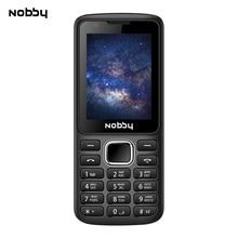 Мобильный телефон Nobby 230 красно - черный