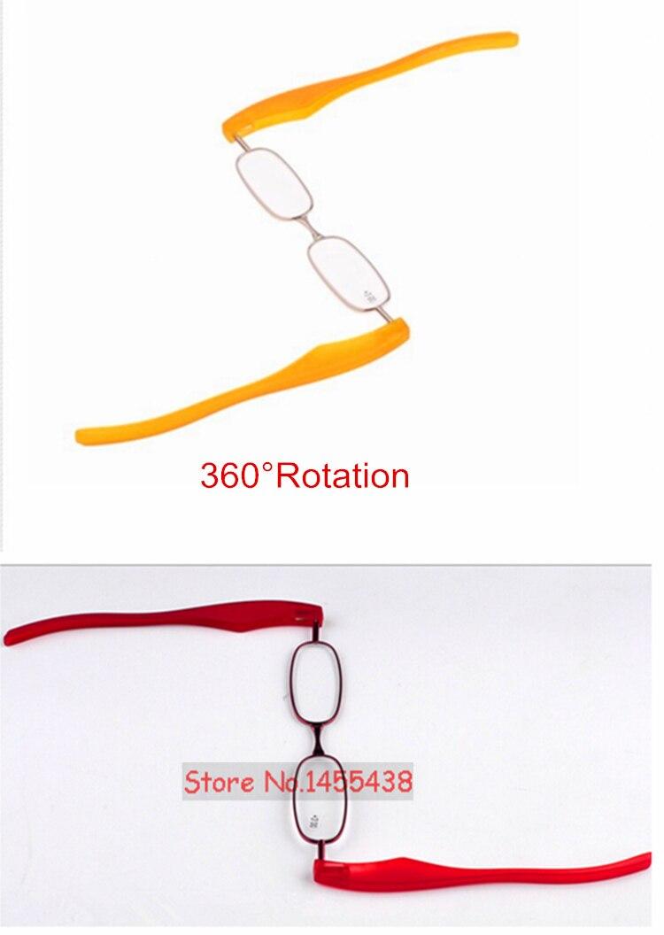 FULLSONG 5 шт./лот складной светильник для чтения с поворотом на 360 градусов портативные очки для дальнозоркости