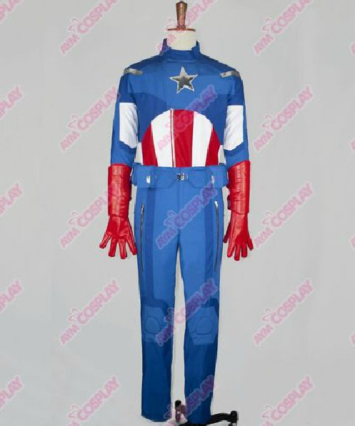 New Arrival The Avengers Captain America Movie Cosutme Cosplay Custom Made ...