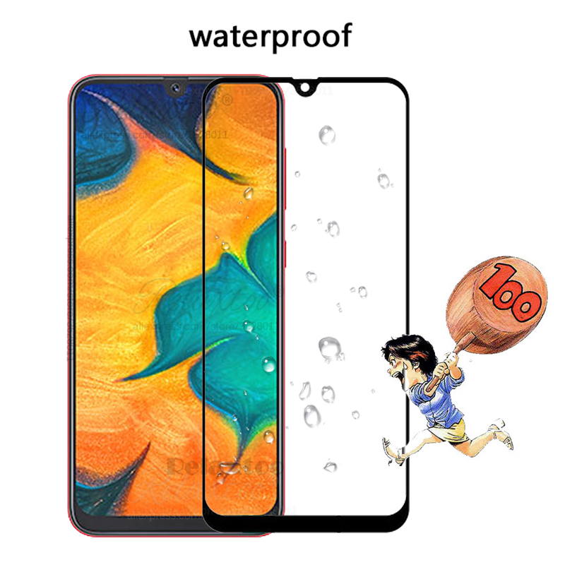 Image 5 - Tempered Glass For Samsung Galaxy A20 A30 A40 A50 protective Glass on the For Samsung A 20 30 40 50 A305F A405F A505F front film-in Phone Screen Protectors from Cellphones & Telecommunications
