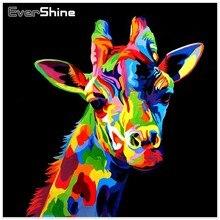 EverShine Diamond Embroidery Animals Sale Full Square Diamond Painting Cross Stitch Diamond Mosaic Picture of Rhinestones Decor