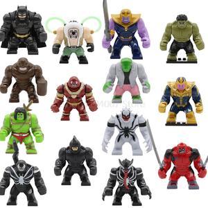 Feleph Super Hero Big Avengers Batman Building Blocks Set