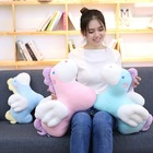 36-55 CM Unicorn Dolls Plush Toys Cute Plush Pillows Animals Kids Baby Toys Smooth Obedient Sleeping Pony Doll