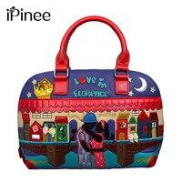 IPinee Popular Luxury Famous Brand Bags For Women PU Leather Handbags High Quality Cross Body Shoulder