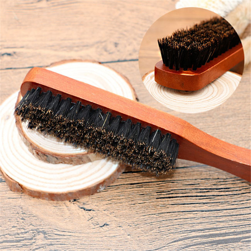Shaving & Hair Removal Beauty & Health 1pc Multi-purpose Hair Brush Handle Wooden Facial Hair Comb Beard Brush Bath Brush Cleaning Wood Beard Brush Tableware Cleaner