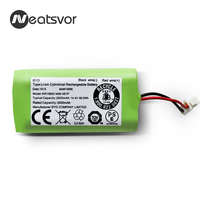 High quility Rechargeable 14.4V 2500mAh Li ion Battery for NEATSVOR robot vacuum cleaner accessories parts
