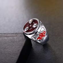 Naruto Sharingan Pattern Men Ring