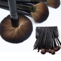 24 PCS With Bag Professional Premium Cosmetic Makeup Brush Set Foundation Powder Eyeshadow Tools Kit High