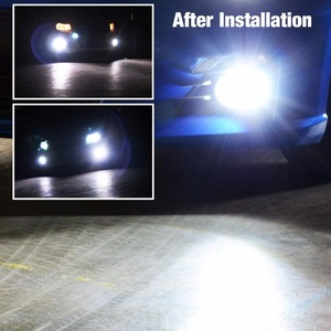 Image 3 - VANSSI 1400 Lumens Extremely Bright 1020 Chips 9006 HB4 H10 9140 9145 H16 H11 H8 LED Fog Light Bulbs, 6000K White,2 Pieces