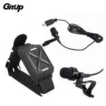 Micrófono MIC + muñeca WiFi Control remoto para gitup git1 git2 deportes acción Cámara Accesorios
