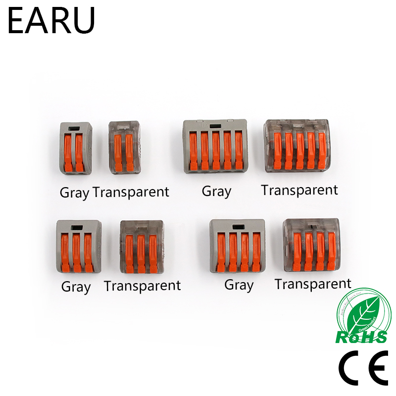 30PCS WAGO 222-412 413 415 PCT212 PCT213 PCT214 PCT215 PCT-215 Universal Compact Wire Wiring Connector Conductor Terminal Block30PCS WAGO 222-412 413 415 PCT212 PCT213 PCT214 PCT215 PCT-215 Universal Compact Wire Wiring Connector Conductor Terminal Block