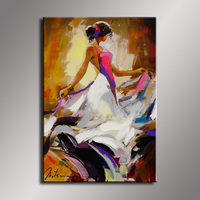 Wholesale oil painting Nude Sexy Female Lady Woman Modern Wall Decor Art Oil Painting On Canvas GT 002