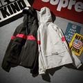 solid hip hop casual jacket men windbreaker printed hooded homme brand  clothing Top tees Outwear Original Design coats Z10