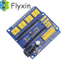 1pcs NANO V3.0 Adapter Prototype Shield and UNO multi-purpose expansion board for Arduino Yellow pin header(China)
