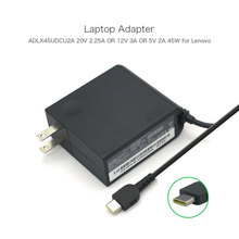 20V 2.25A 45W ADLX45UDCU2A SA10E75820 5A10Ok34713 00HM642 USB-C Laptop computer AC Charger for Lenovo Thinkpad X1 Pill Energy Provide