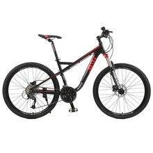 Сделать горный велосипед Алюминий 19 «рама Shimano 27 скорость 9 скорость 27,5» колеса гидравлический дисковый тормоз