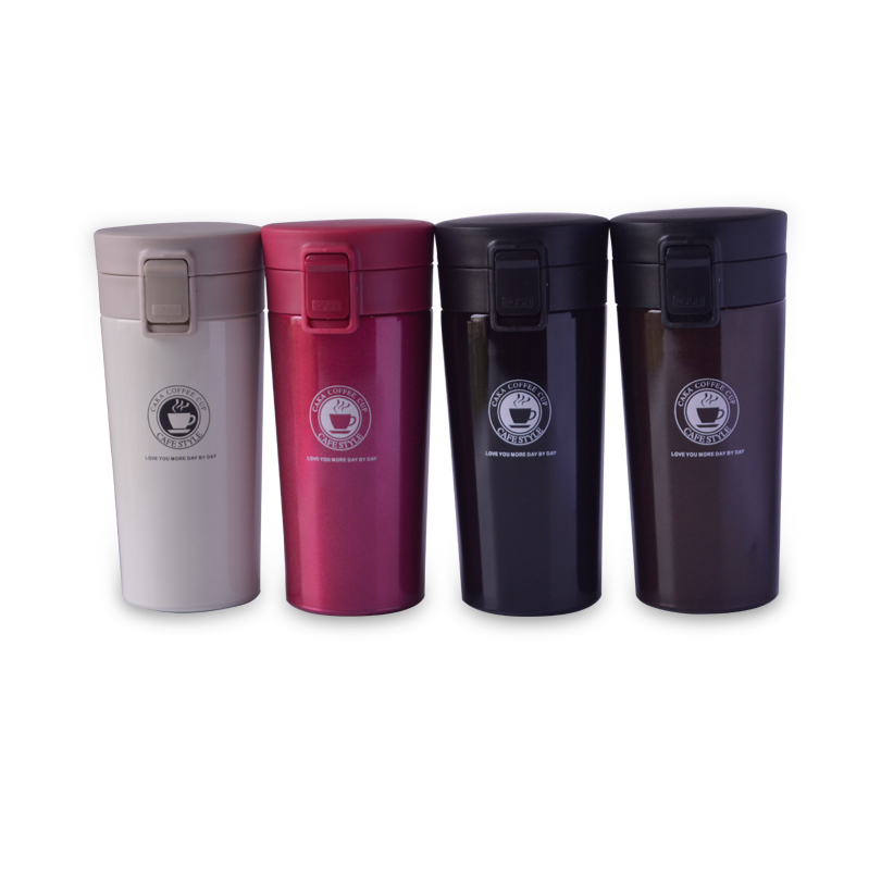 380ml stainless steel coffee cup thermos tumbler cup vacuum flask thermal for office water bottle tea mug thermocup