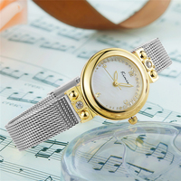 KIMIO Bracelet Watches For Lady Rose Gold Women Fashion Dress Quartz Watch Water Resistant Watch With