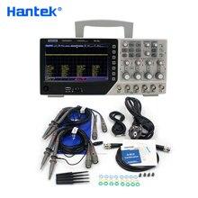 Цифровой осциллограф Hantek DSO4084C, 80 МГц, 4 канала, USB, ПК, Osciloscopio + 1 канал, Arbitary/функциональный генератор