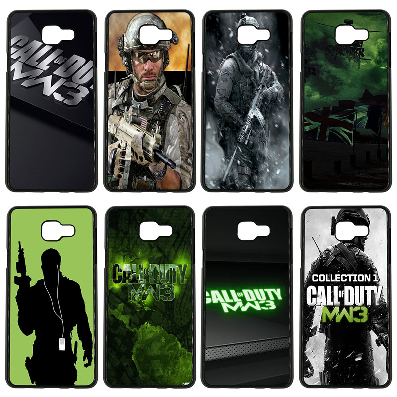 Call Of Duty Mw3 Cell Phone Case Hard PC Plastic Phone Cover Protect for Samsung Galaxy S8 S9 Plus S3 S4 S5 Mini S7 S6 Edge Plus