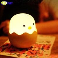 led light egg night light Silicone Soft Children Baby Nursery Sleeping Lamp Breathing Halloween Christmas light gift