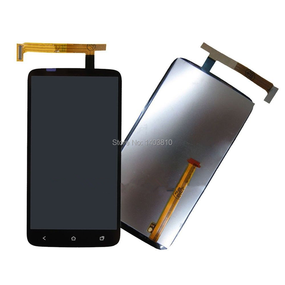 Подробнее о Free shipping Original New Full LCD Display + Touch Screen Digitizer Glass Assembly For HTC One X S720e G23 Phone new lcd for htc one m9 lcd touch screen display with digitizer full assembly free shipping