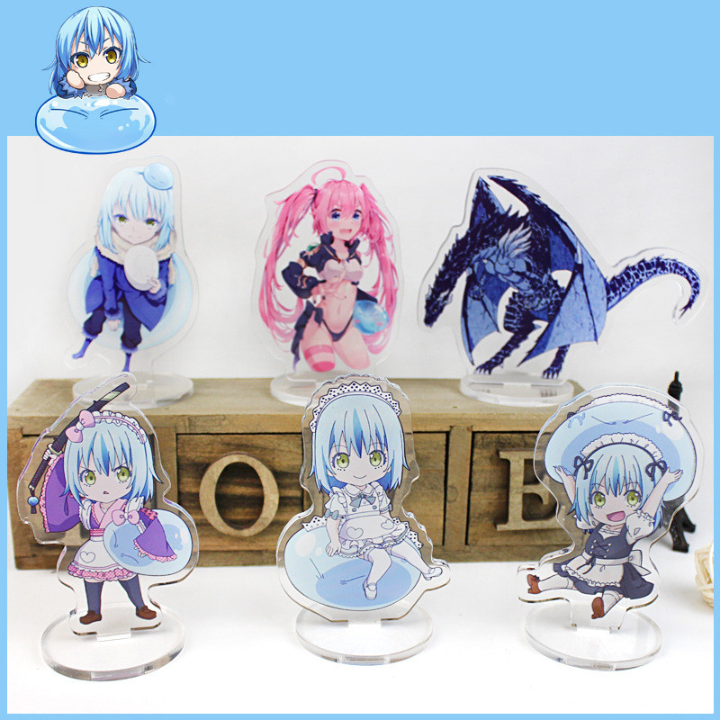 Anime That Time I Got Reincarnated As A Slime Display Stand Figure Model Plate Holder Cartoon Figure Collection Christmas Gift