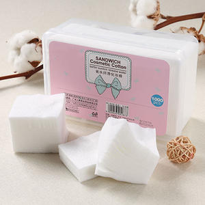 Makeup Cotton Wipes Makeup-Remover-Pads Facial-Cleansing Disposable Soft 1000pcs/Set