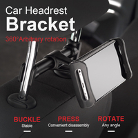 11inch Universal 360 Rotating Backseat Tablet PC Headrest Holder Support Car Back Seat Mobile Phone Holders