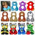 High-quality Cute Baby Neck Pillows Cartoon U-shaped Travel Pillow Car Seat Cushion Foam Posites Kids Toys For 1-4 Years Old