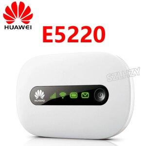 Router de bolsillo 3G E5220 E5330, Router inalámbrico libre, punto de acceso móvil 3G, Wifi para coche, módem 3G con ranura para tarjeta Sim PK Huawei ZTE Tenda