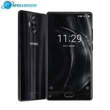 "Original DOOGEE MIX Lite Mobile Phone 2GB+16GB Dual Camera 5.2"" MTK6737 Quad Core Android 7.0 3080mAh Fingerprint ID Smartphone"