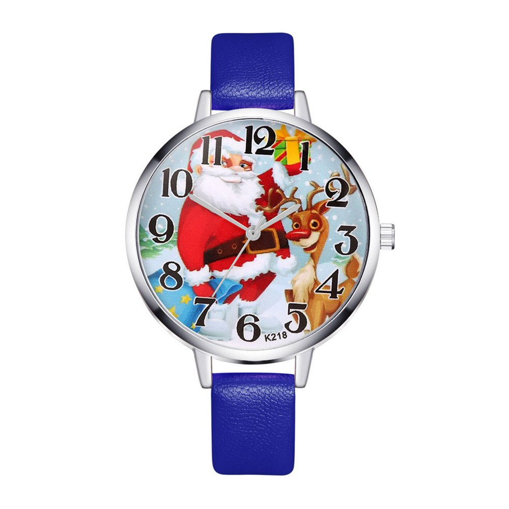 Trendcy Fashion Luxury Quartz Watches Women Music Stainless Steel Dial Leather Band Wrist Watch Valentine Christmas Kids GIFTS