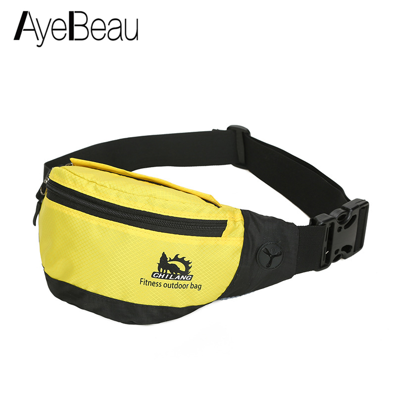 Money Waistbag Hip Bumbag Bum Beltbag Female Male Belt Waist Bag Women Men Handy Pouch Purse Phone For Banana Bananka Fanny Pack
