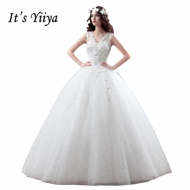 Sommer Stil Real Photo Tüll Transparent V ausschnitt Brautkleider ...