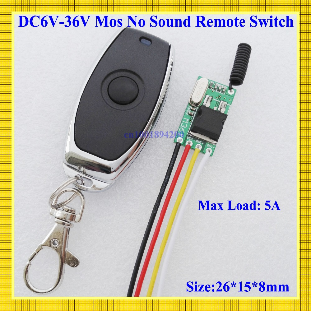 Mos Contactless Remote Switch Small Car Truck Buss Motorcycle Wireless Control Switch 6V 7 4V 9V