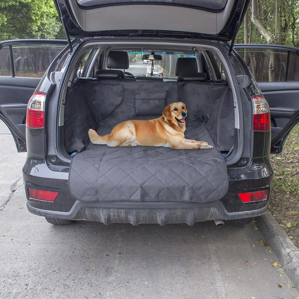 non slip waterproof dog cargo liner safety hammock pet car