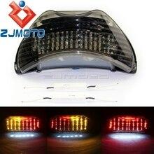 Integrated мотоцикл светодио дный фонарь поворотники дым задние лампы для Honda CBR600 F4 1999-00 CBR900RR 1999 CBR600 F4i 2004- 07